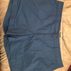 Old navy size 16 shorts blue
